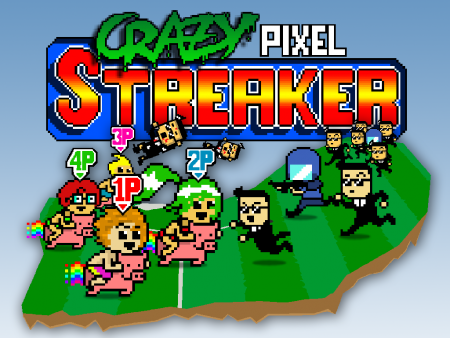 Crazy Pixel Streaker. Why play sports when you can run spreading chaos while half-naked instead?